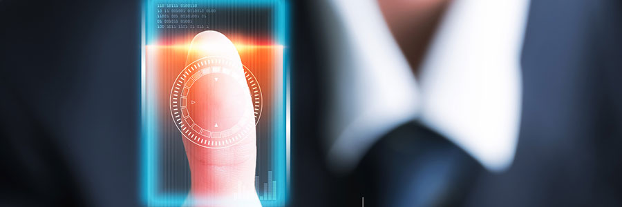 Biometrics authentication is the way to go with data security