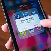 teens leaving Facebook