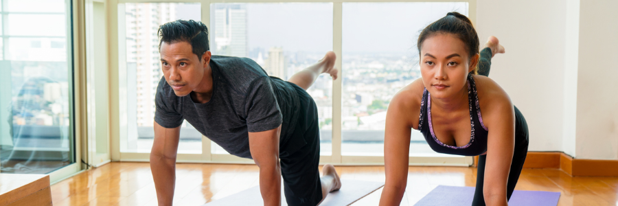 5 Easy exercise moves to keep you fit when working from home